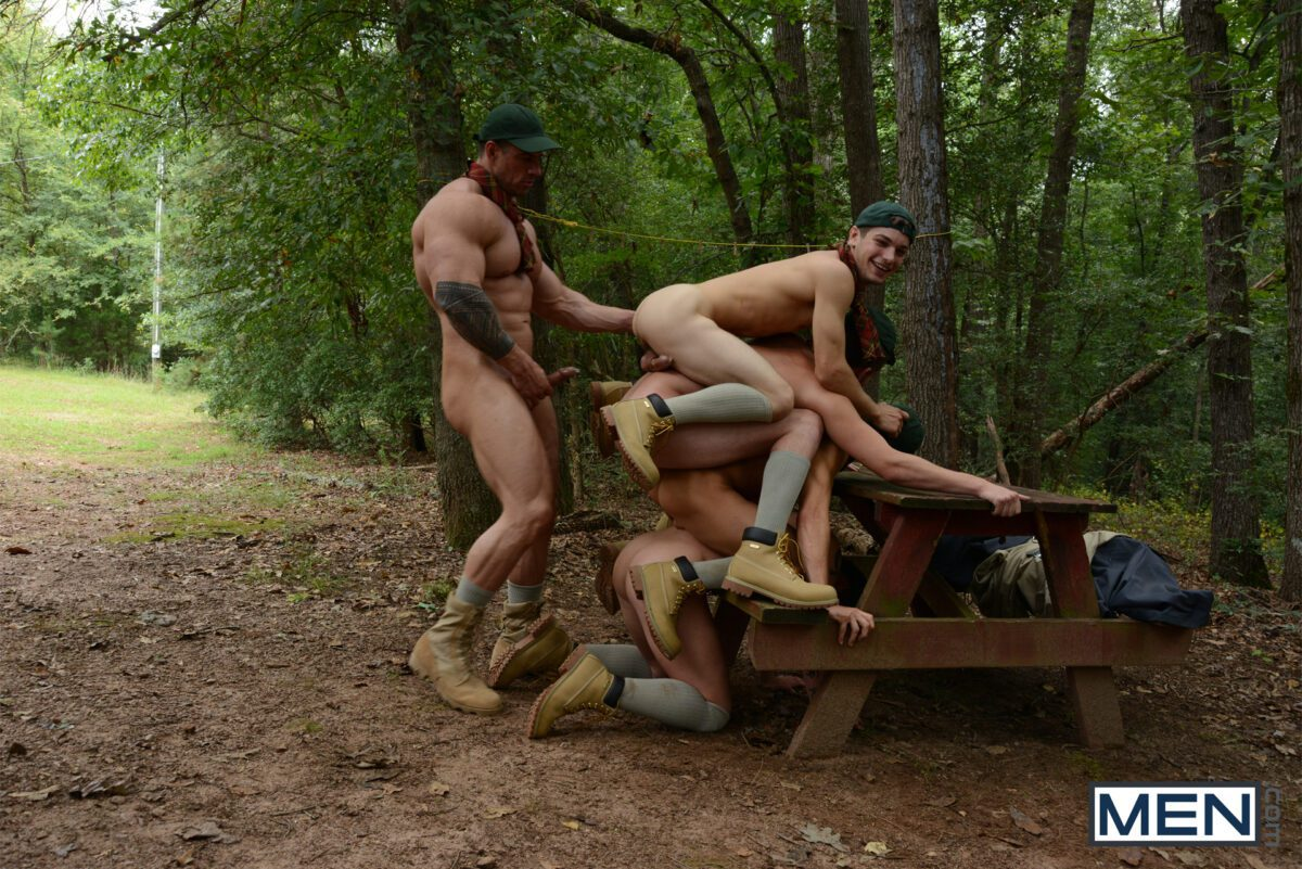 home video of gay bareback party