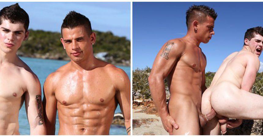 Brent & Eric's Sex On The Beach!