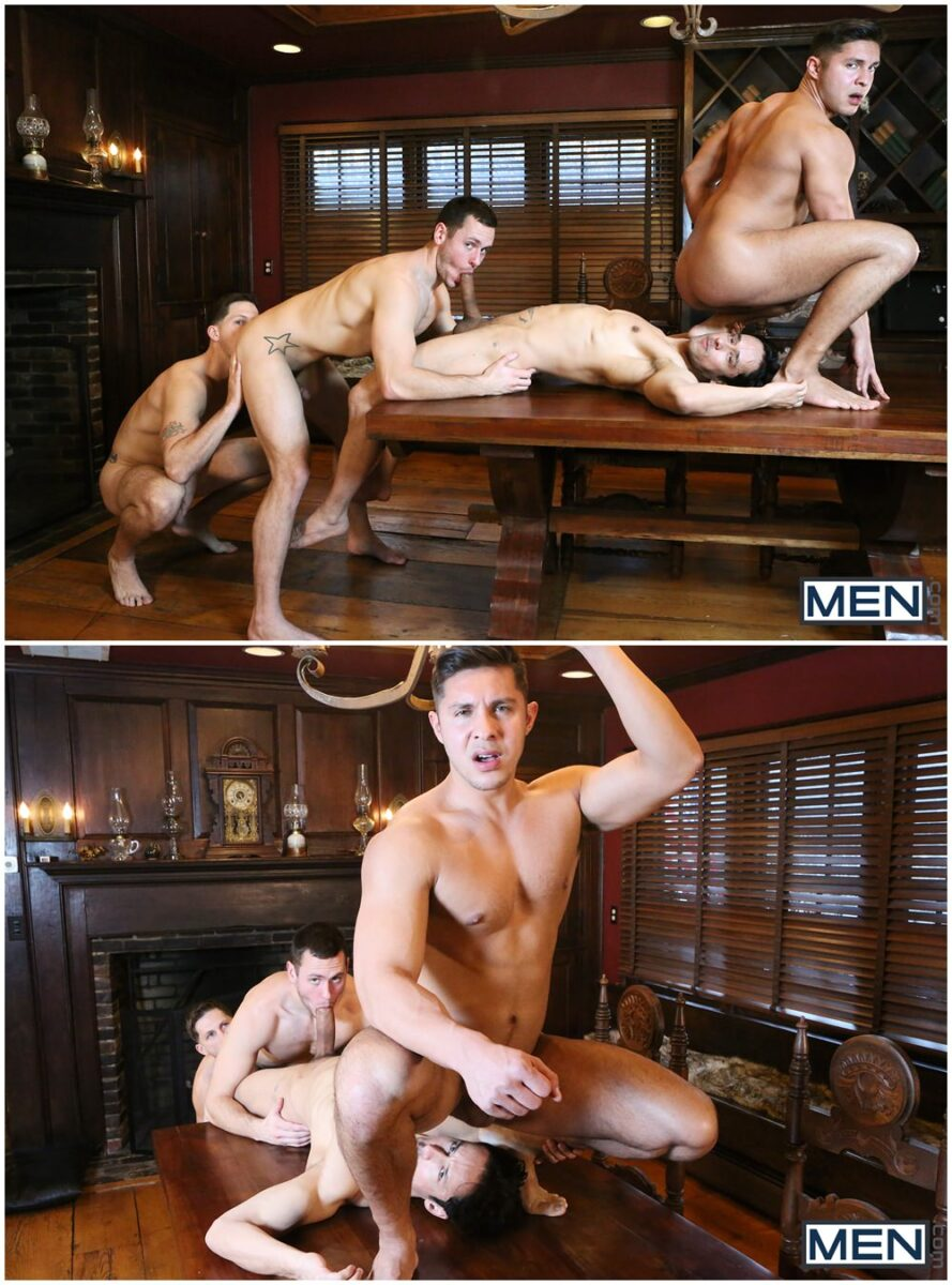 MEN Godfather part 4 XXX fourway group orgy fuck muscle studs (2)
