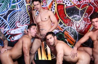 Five Stud Fuck Frenzy!
