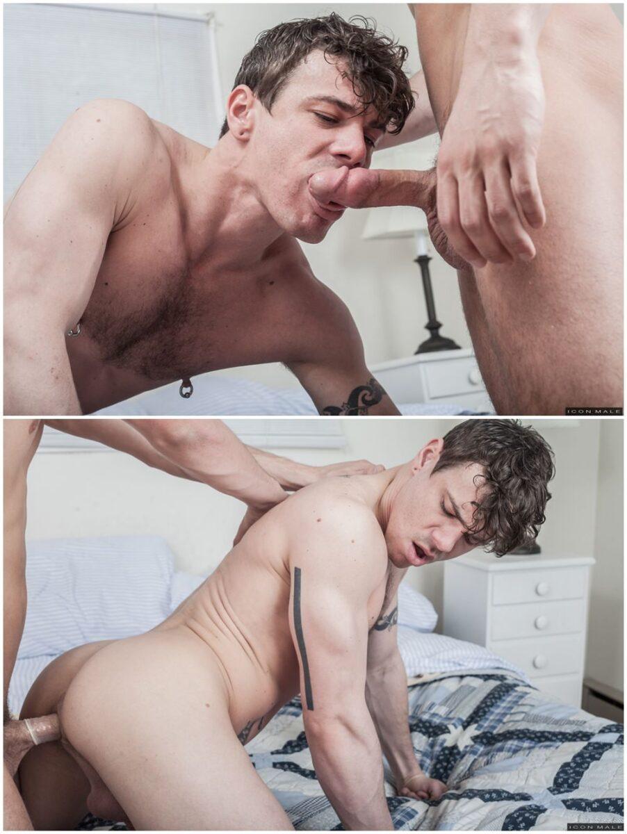 Schoolboy Fantasies 2 Icon Male gay porn xxx hunks & jocks fuck in the dorm (3)