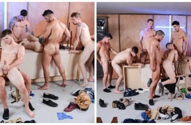 Stunning Ten-Stud Orgy!