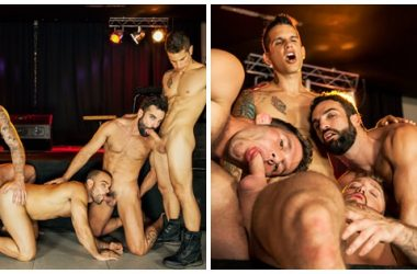 Muscle Stud Orgy!