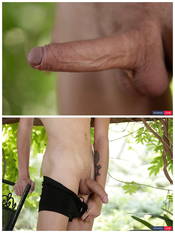 Uncut Euro twinks flip flop fuck bareback outdoors Kris Blent & Xavier Sibley raw anal sex gay porn xxx2