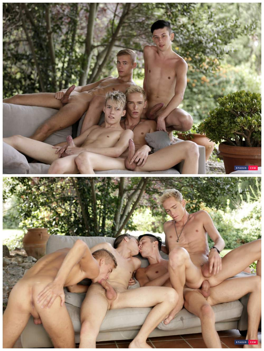 Gay porn out in public