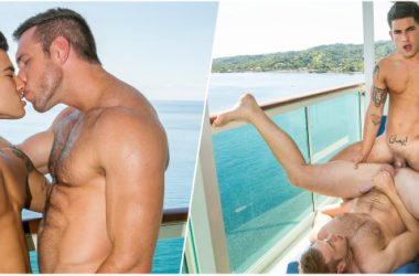 Vadim Fucks Alex Out At Sea!
