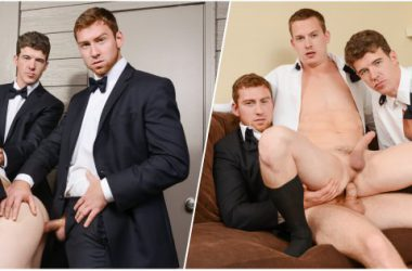 Wedding Stud Threesome