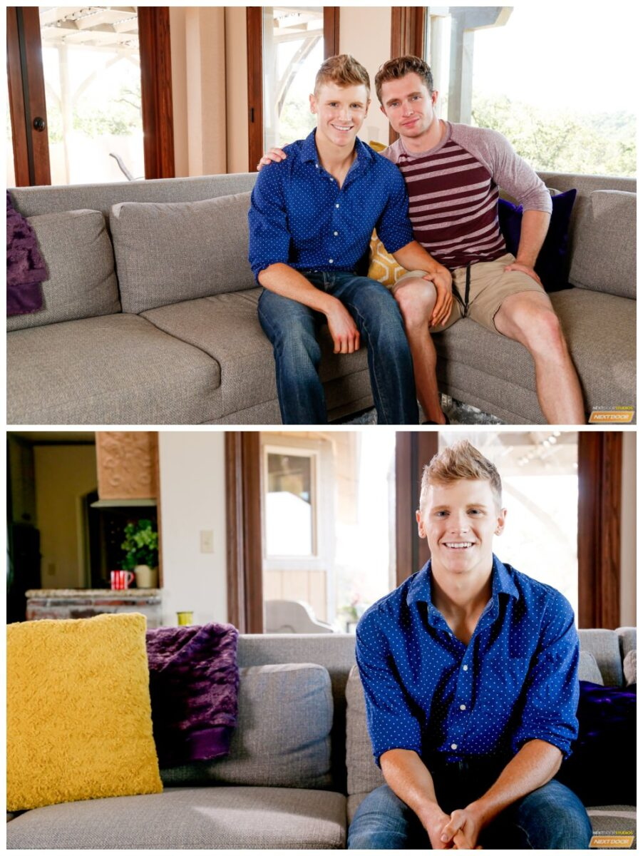 Casting couch Markie More fucks blond jock Alex Tanner anal sex Next Door gay porn free pics xxx1
