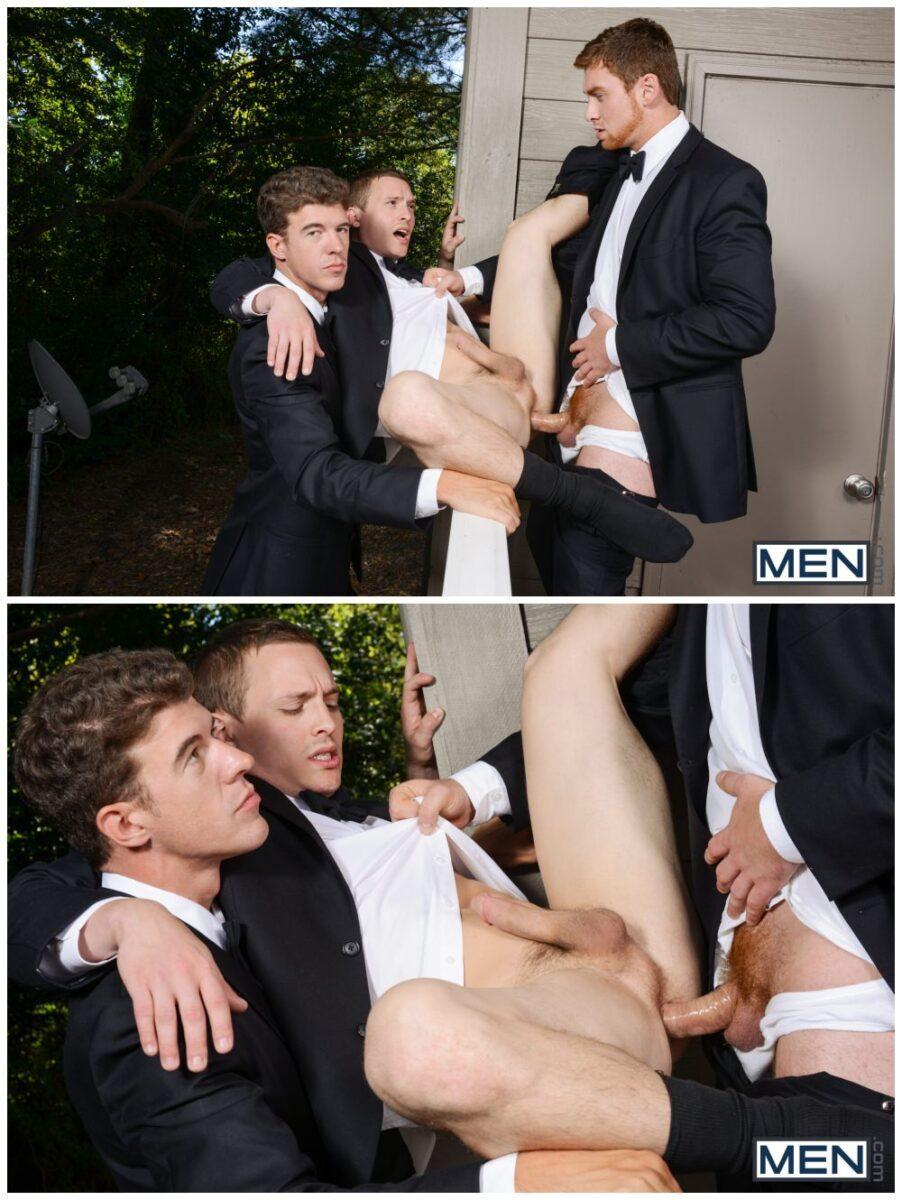 Connor Maguire, Tommy Regan and JJ Knight threesome fuck jocks anal sex MEn gay porn xxx4