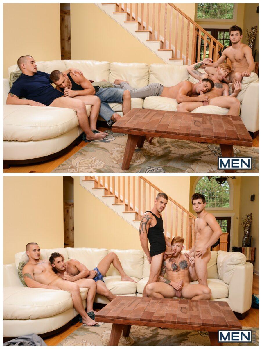 Johnny Rapid MEN.com orgy Adam Bryant Bennett Anthony anal group sex muscle stud gay porn xxx 6