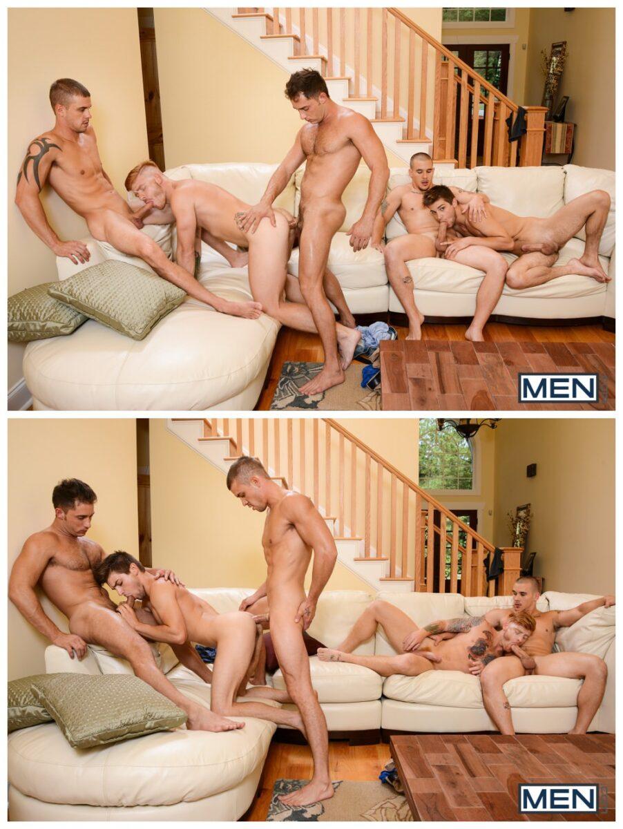 Johnny Rapid MEN.com orgy Adam Bryant Bennett Anthony anal group sex muscle stud gay porn xxx 8