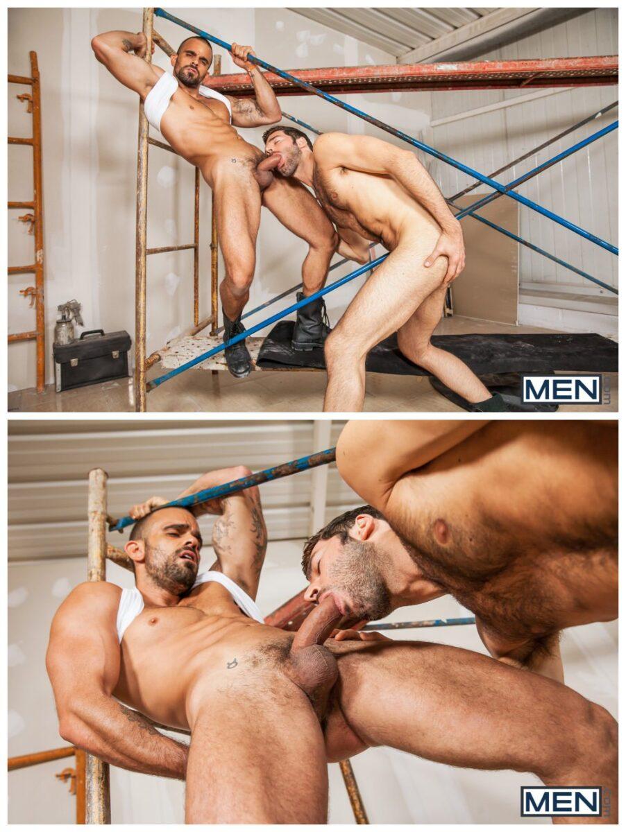 Truck Stop part 2 Damien Crosse fucks Dario Beck muscle studs anal sex gay porn MEN.com xxx2