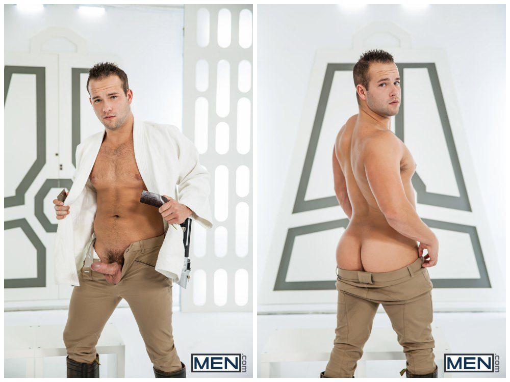 Luke Adams Stormtrooper ganbang group orgy gay anal sex MEN fucking Star Wars parody xxx6