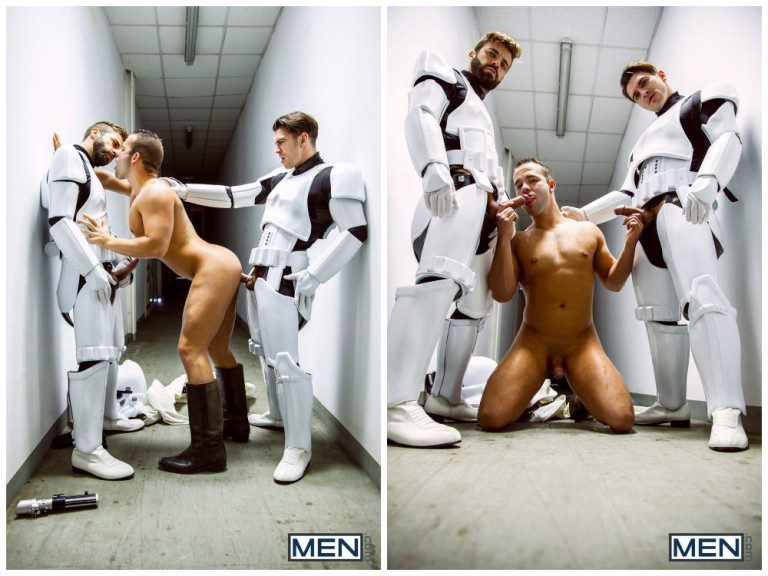 Female stormtrooper is here to satisfy your cock