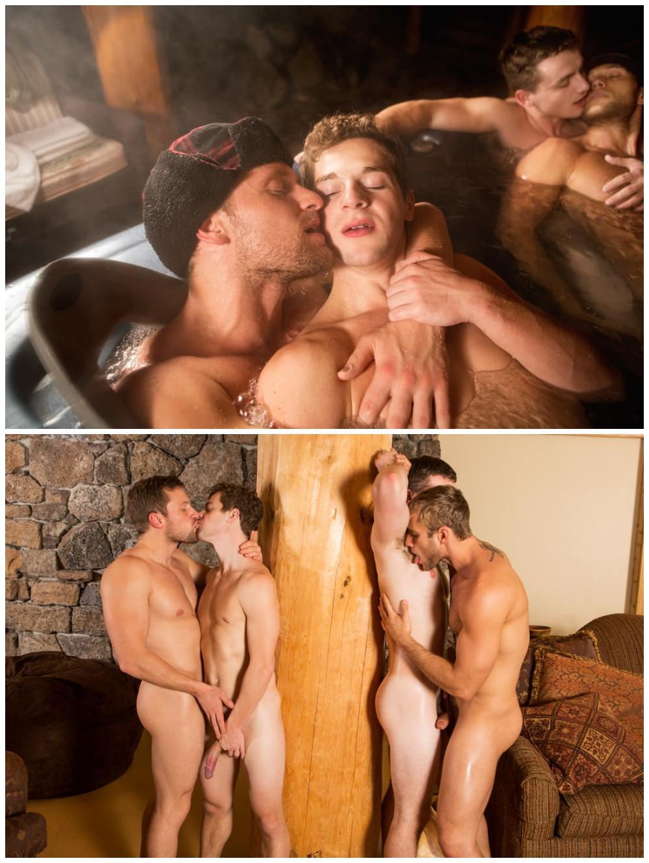 Sexy young muscle jocks group bareback sex. Sean Cody studs fuck raw. Fourway breed cum gay porn. Atticus, Blake, Brendan, Robbie xxx2