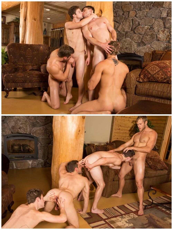 Sexy young muscle jocks group bareback sex. Sean Cody studs fuck raw. Fourway breed cum gay porn. Atticus, Blake, Brendan, Robbie xxx3