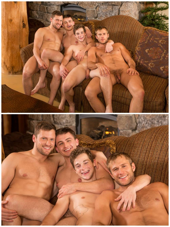 Sexy young muscle jocks group bareback sex. Sean Cody studs fuck raw. Fourway breed cum gay porn. Atticus, Blake, Brendan, Robbie xxx6