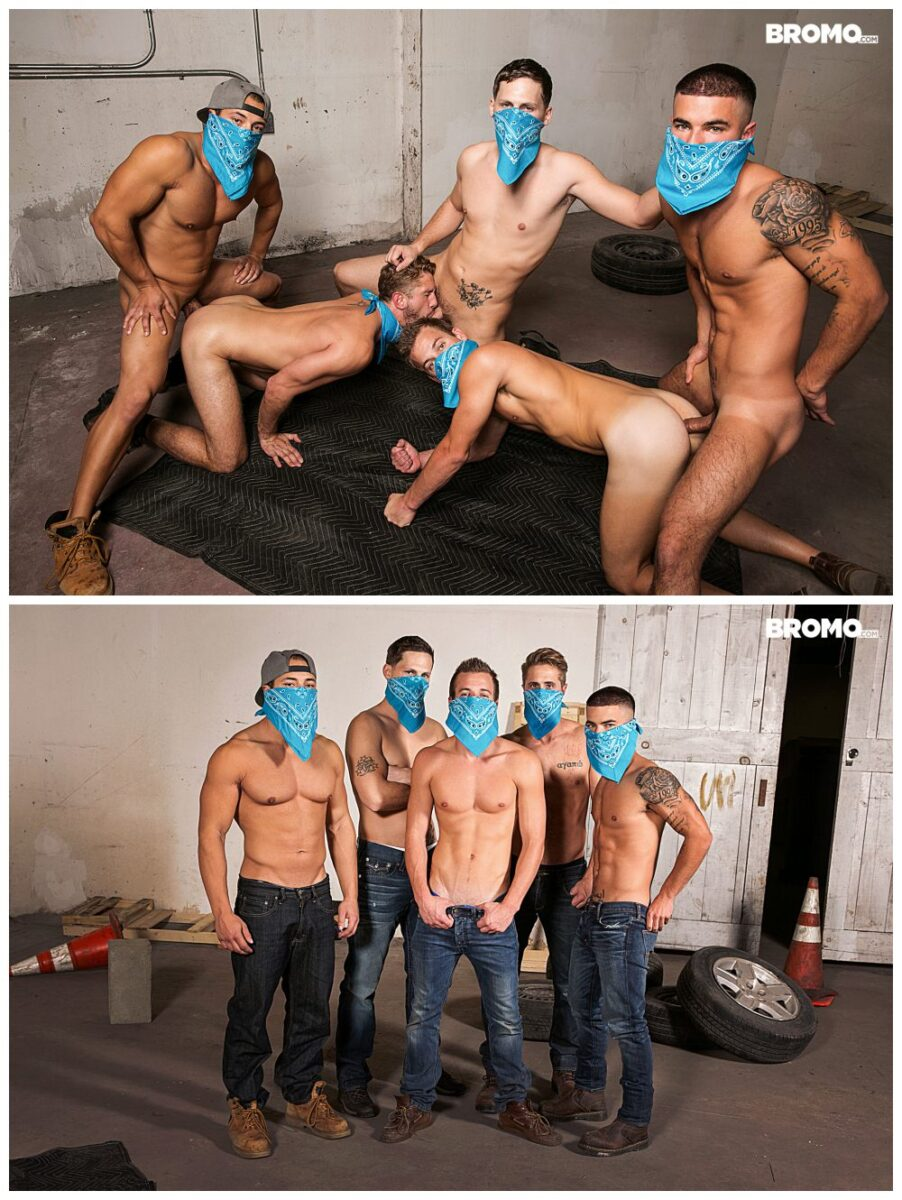 Bareback group fucking orgy, hot studs fucking raw, inked muscle jocks bukkake, cum squirting cocks, big dicks sucking anal sex gay porn xxx.7