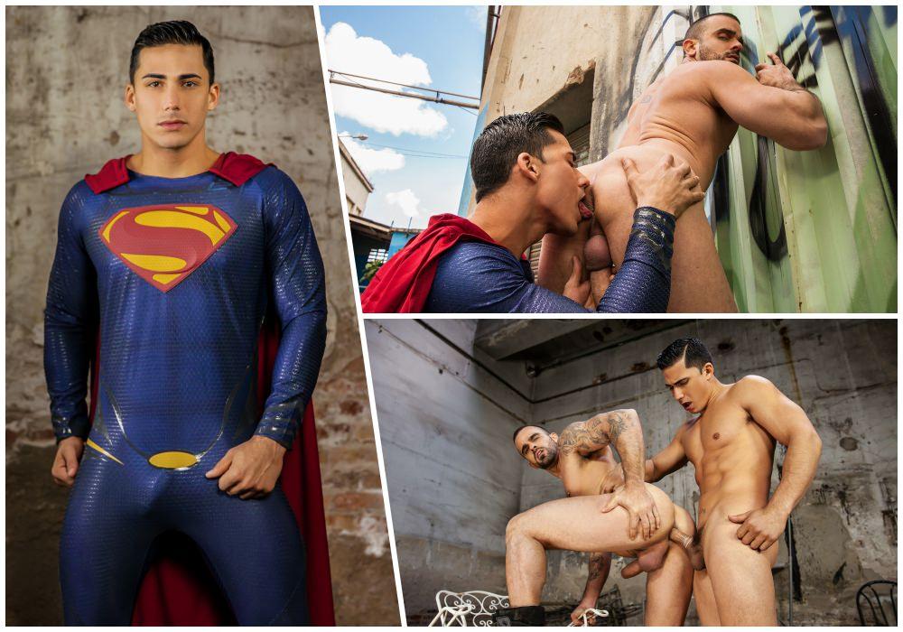 Порно Геи Супергерои