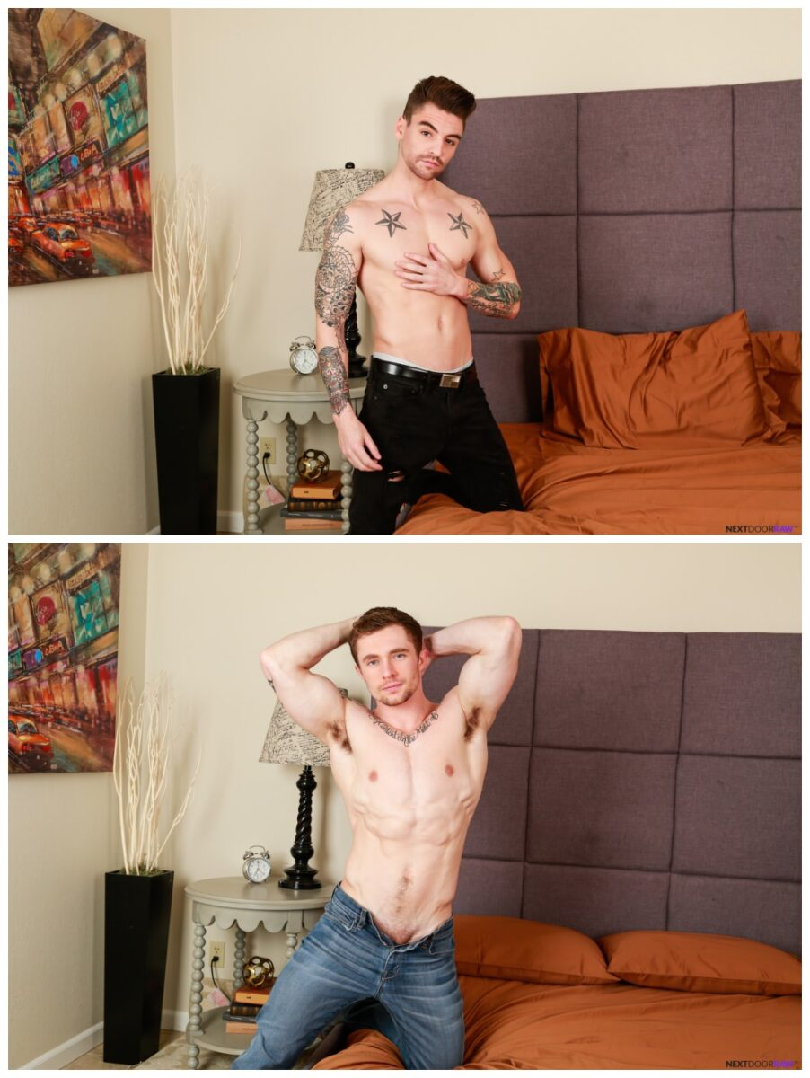 Johnny Torque xxxx bottoms for the first time & takes a raw cock, Markie More xxx fucks inked jock bareback, tattooed young studs anal sex, creampie cum fuck, Next Door Raw xxx free gay porn.2