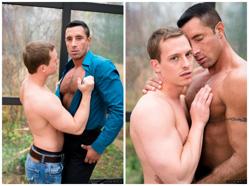 Muscle hunk hot daddy Nick Capra fucks young jock Tommy Regan, daddy & son fucking anal sex, Icon Male xxx gay porn, free pics.3