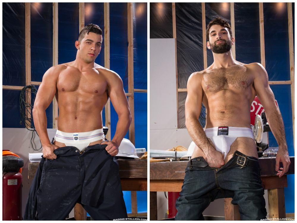 Muscly hunks fuck, beefy studs anal sex, workmen uniforms fucking on the job, Jacob Tyler xxx pounds tegan Zayne xxx Raging Stallion xxx free gay porn pics.2