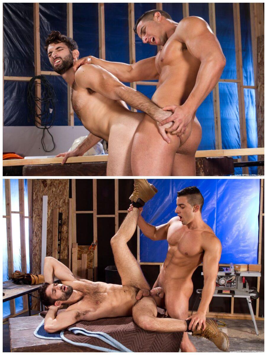 Muscly hunks fuck, beefy studs anal sex, workmen uniforms fucking on the job, Jacob Tyler xxx pounds tegan Zayne xxx Raging Stallion xxx free gay porn pics.6