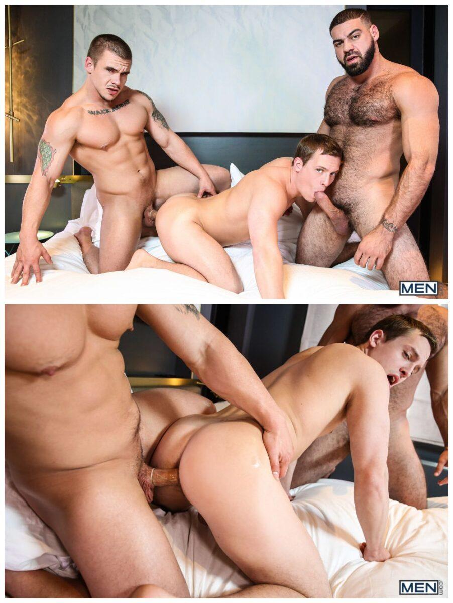 gay guy threesome