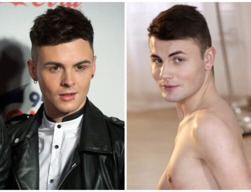 Union J Boyband Member Jaymi Hensley Gay Porn Double