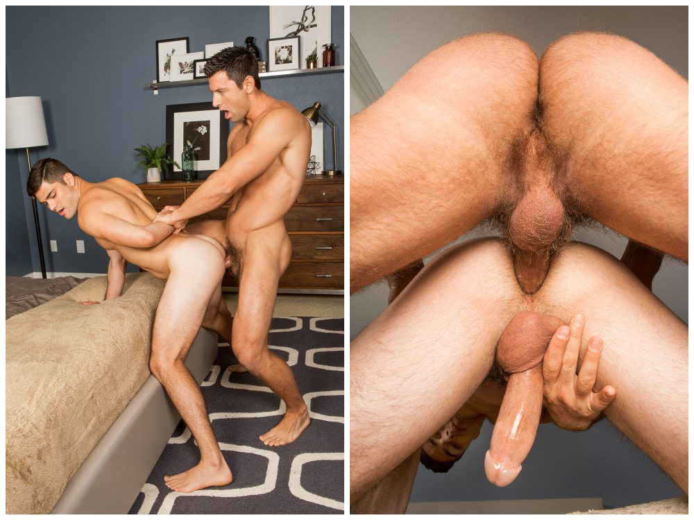 Bareback flip-flop, Shaw bottoms for the first time as Tanner fucks him deep and raw. Muscle jocks cum breed creampie anal sex, Sean Cody xxx free gay porn video scenes pics.5