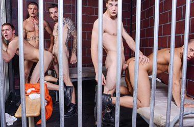 Bareback Prison Fuck-Fest!