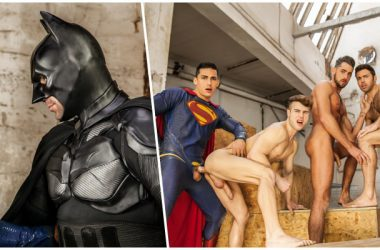 Superman Fucks Batman