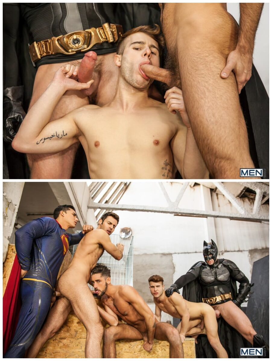 Batman Vs Superman Porn Parody