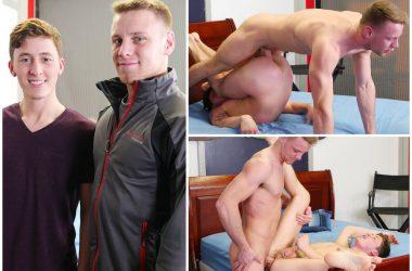 Brandon Evans Fucks Danny Cannon Raw