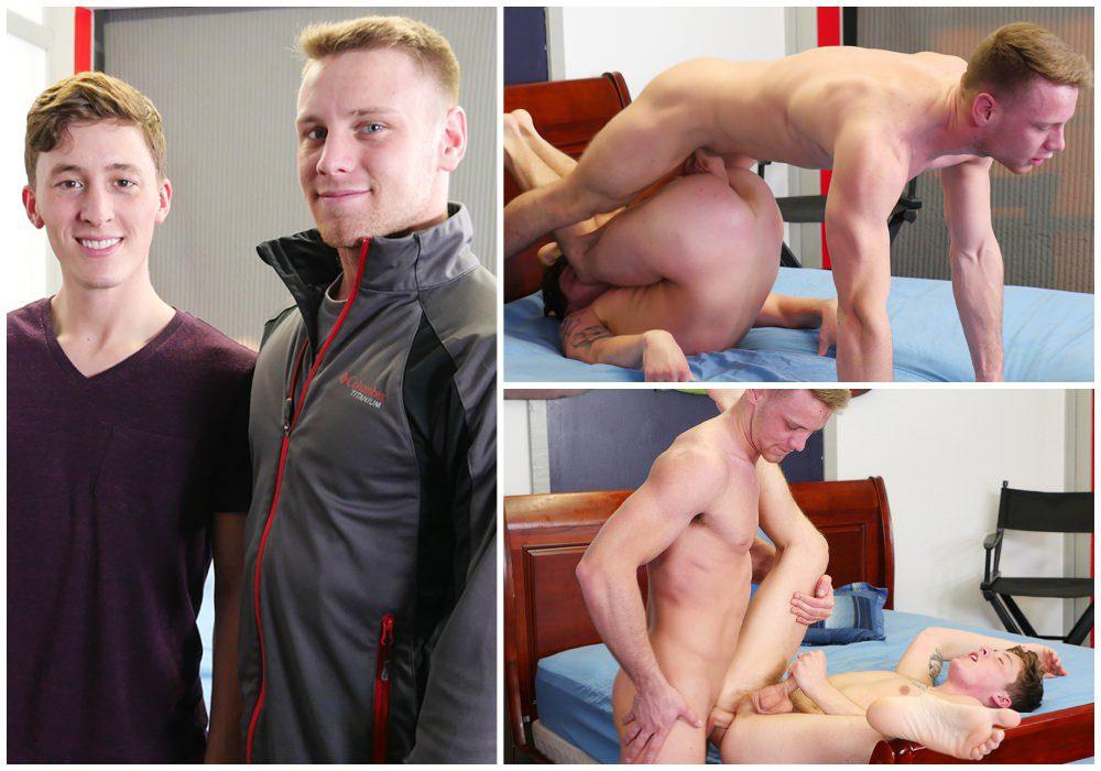 Brandon Evans fucks Danny Cannon raw, Broke Straight Boys xxx free gay porn, jocks fucking bareback.1