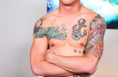 Want To See This Inked Jock Shoot A Load?