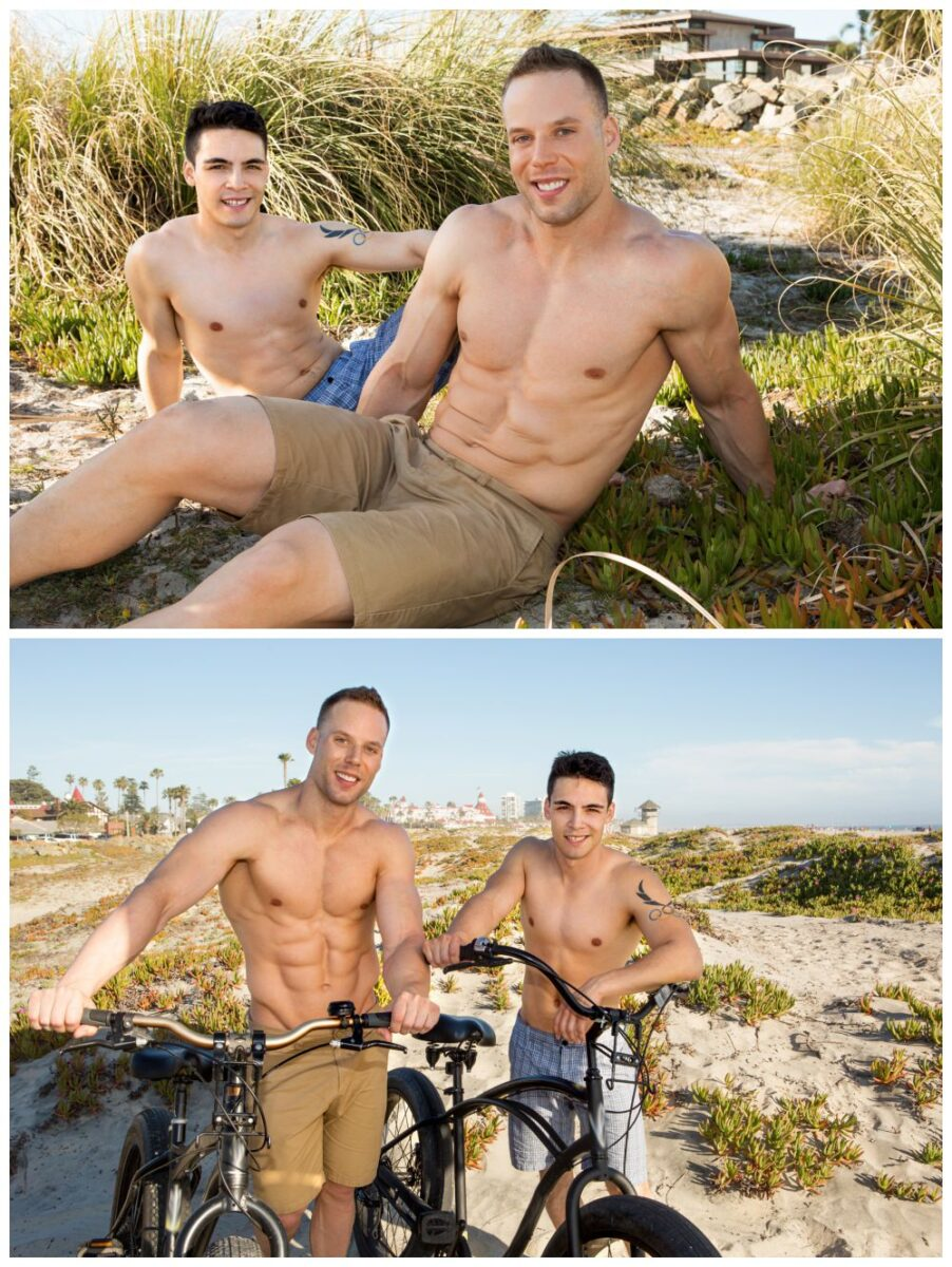 Muscle jocks fuck bareback in new Sean Cody xxx scene, Wilson pounds Jasper raw, cum fucking studs anal sex gay porn free pics and video.2