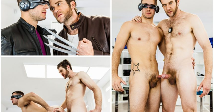 "MEN.com's ""X-Men: A Gay Porn Parody XXX"" Begins!"