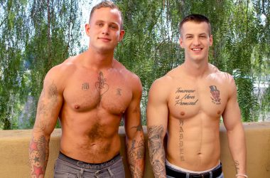 Inked Hunks Fuck Raw!
