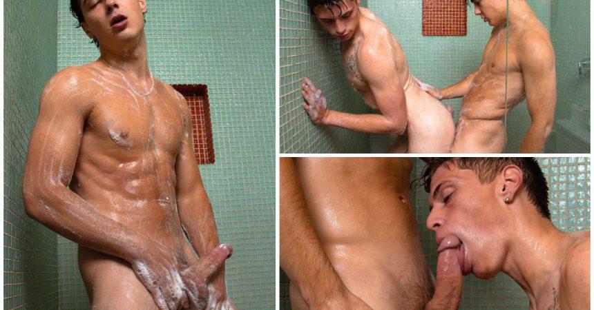 Horny Boys Get Sexy & Soapy!