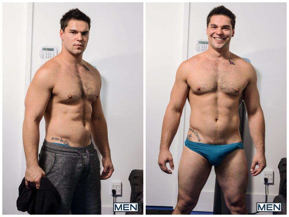 Aspen pounds Landon Mycles, hot muscle studs fuck, Men.com xxx free gay porn video and pics anal sex.3