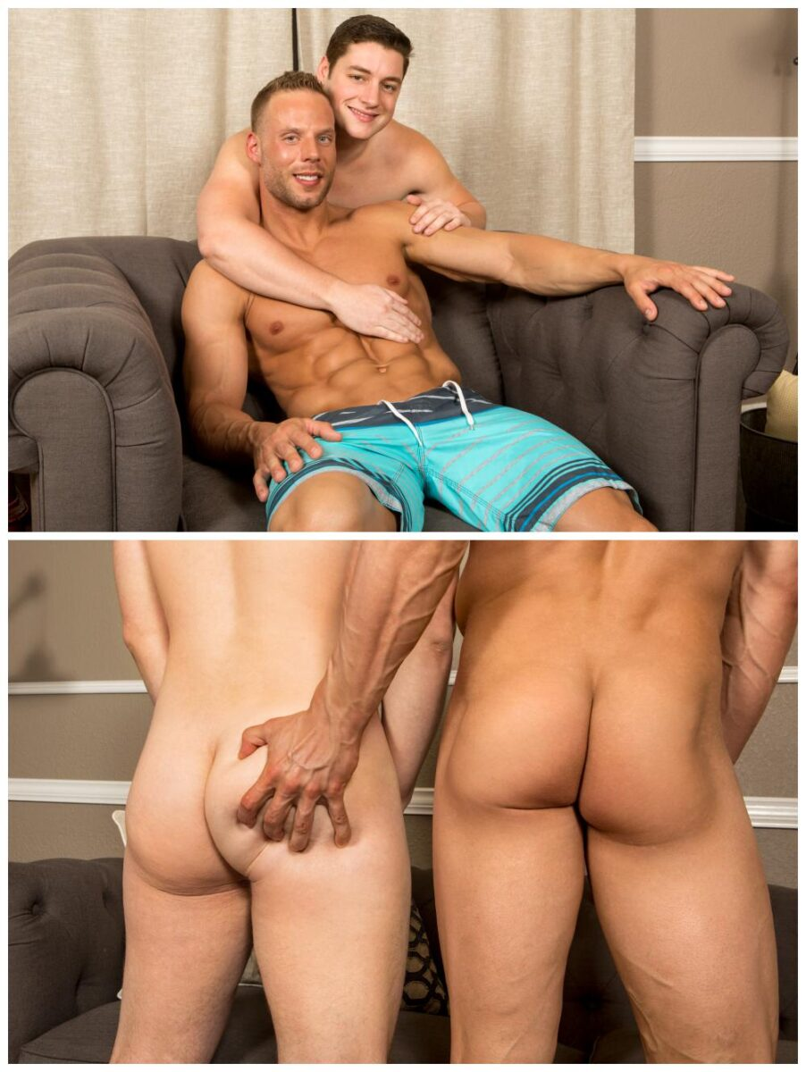 Forrest blake bareback butthole action