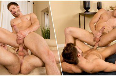 Muscle Jocks Sean & Dean Flip-Flop Bareback