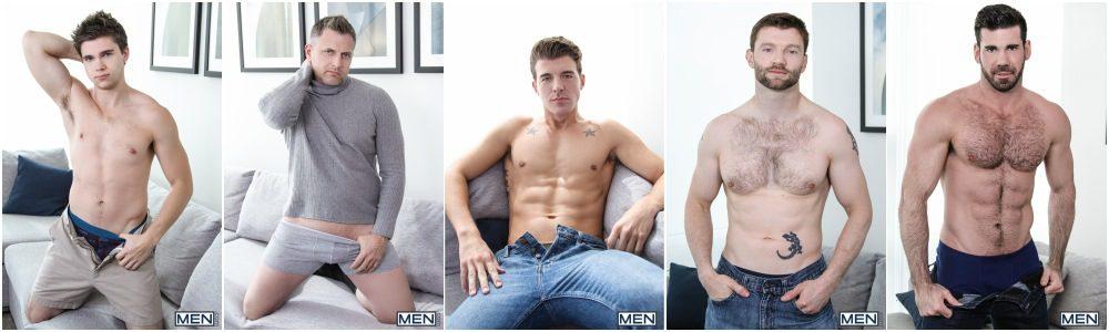 Will Braun's epic gang-bang orgy, MEN.com group sex hunks fucking, xxx free gay porn video and pics.2