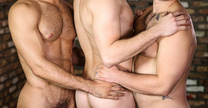 Brenner Bolton Gets His Butt Fucked By Aspen & Diego Sans