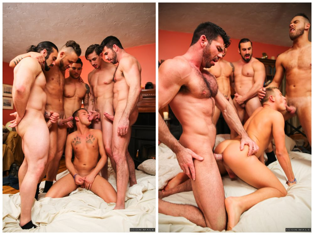 Gang Bang Gay Porno