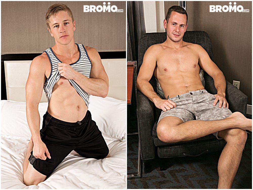 Chris Blades fucks Brenner Bolton bareback, raw anal sex xxx free gay porn, jocks fucking ass Bromo.2