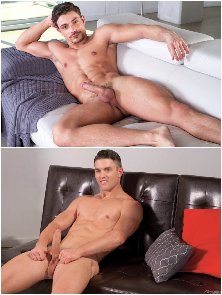 Muscle studs Ryan Rose and Carter Dane fuck, Falcon Studios free gay porn xxx.2