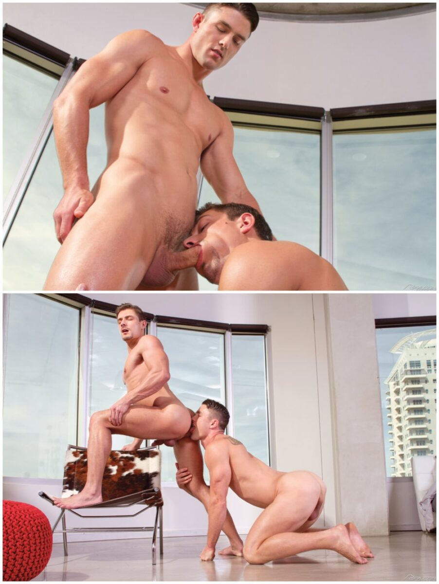 Muscle studs Ryan Rose and Carter Dane fuck, Falcon Studios free gay porn xxx.4