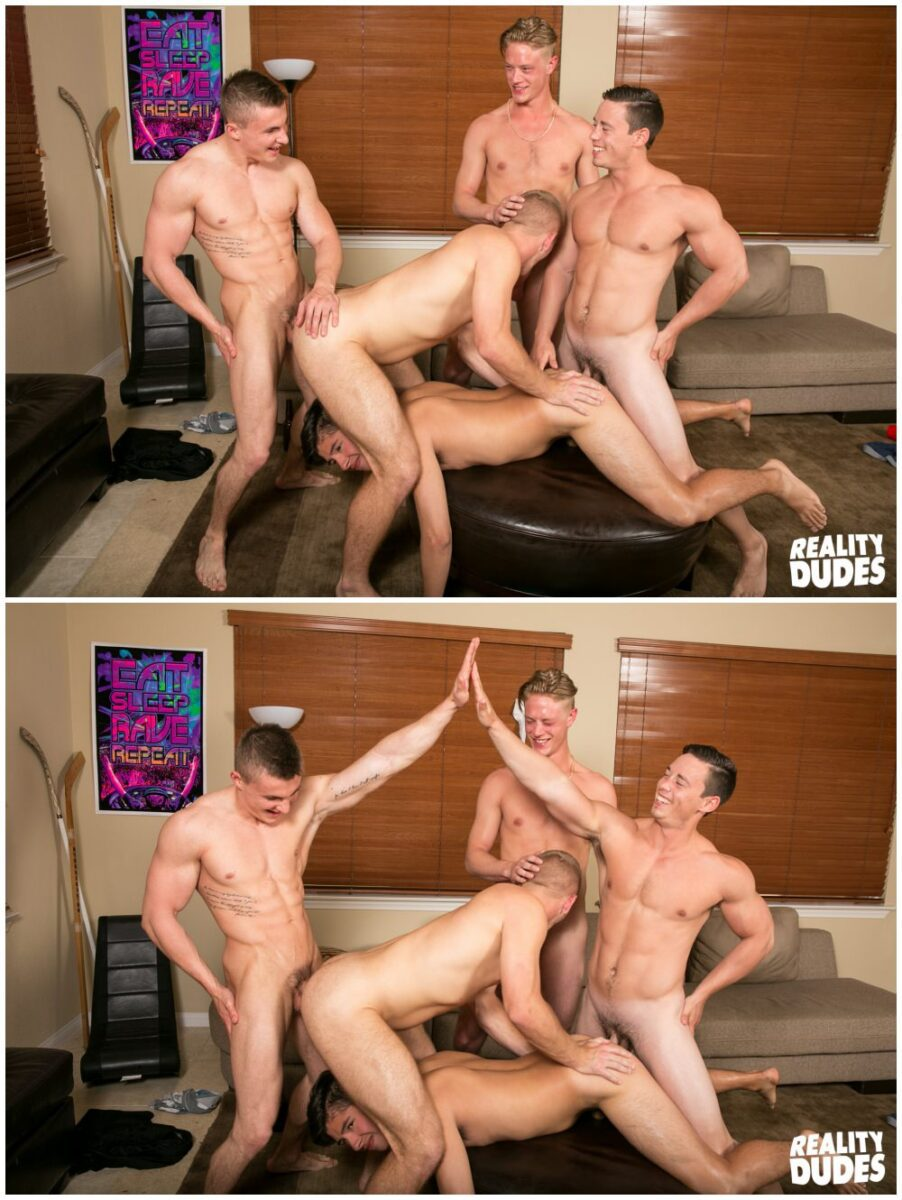 free gay gang bang movie